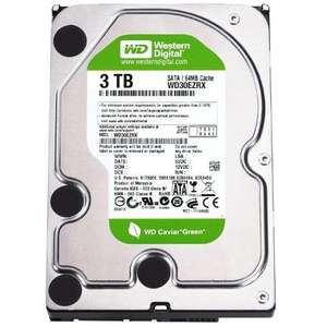 "Disque dur interne 3To WD Green WD30EZRX 3.5"" Serial ATA-600"