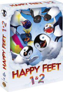 Dvd Happy feet 1 et 2