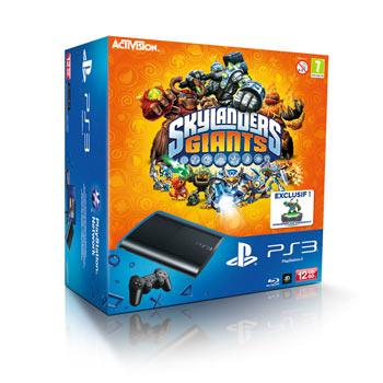Console Sony PS3 Ultra Slim 12 Go - Skylanders Giant