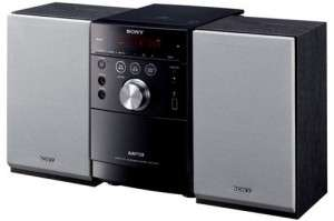 Chaine Hi-Fi Sony CMT-EH26 - CD, radio, port USB, cassette