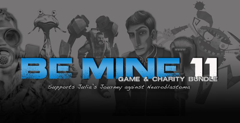 Bundle Be Mine 11 : 7  Jeux (6 Steam & 1 Greenlight + Desura) + 3 jeux bonus