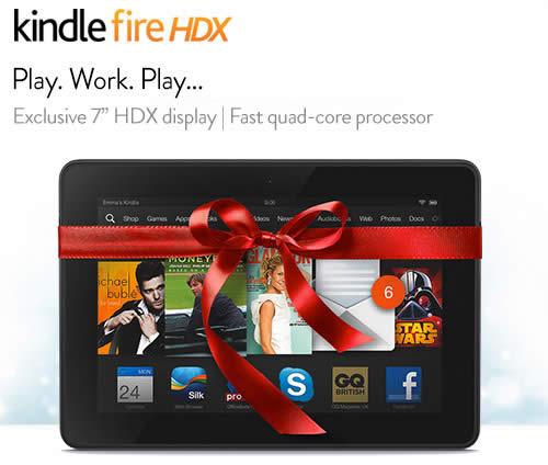 """Tablette Kindle Fire HDX 7"""" 32GO à 229€ et 16Go"""