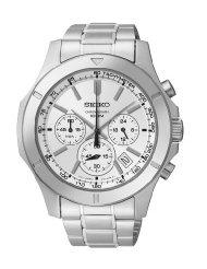 400 montres de marques jusqu'à -75%. Ex : Montre Chronographe Seiko  SSB099P1