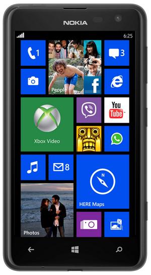 Smartphone Nokia Lumia 625 Noir (Carte prépayée)