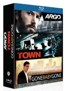 Coffret Blu-Ray Ben Affleck : Argo + The Town + Gone Baby Gone