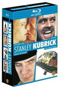 Coffret Blu-Ray Stanley Kubrick : Eyes Wide Shut + Shining + Orange mécanique + Full Metal Jacket
