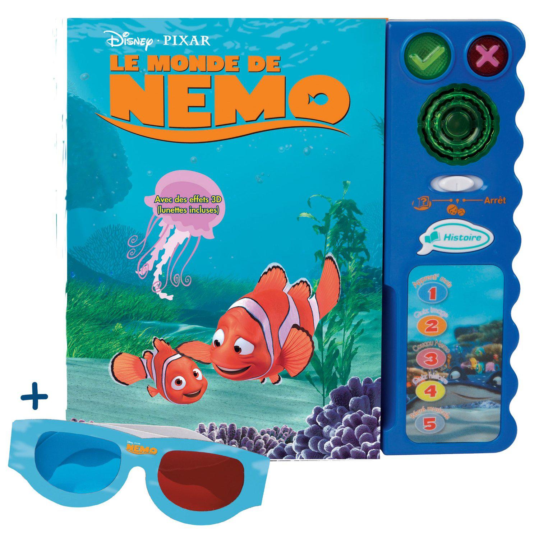 VTECH Magi livre interactif Nemo (avec lunettes 3D)