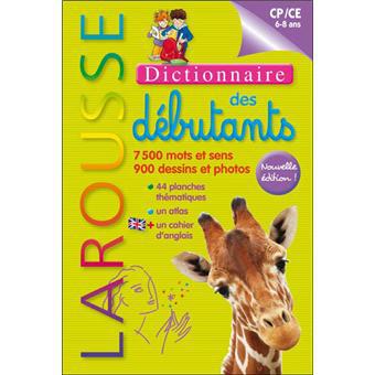 Dictionnaire Larousse des débutants