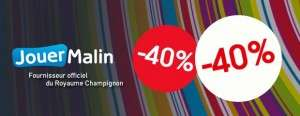 Tout à -45% sur le site