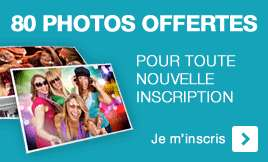 80 tirages photo premium gratuit (port inclus)