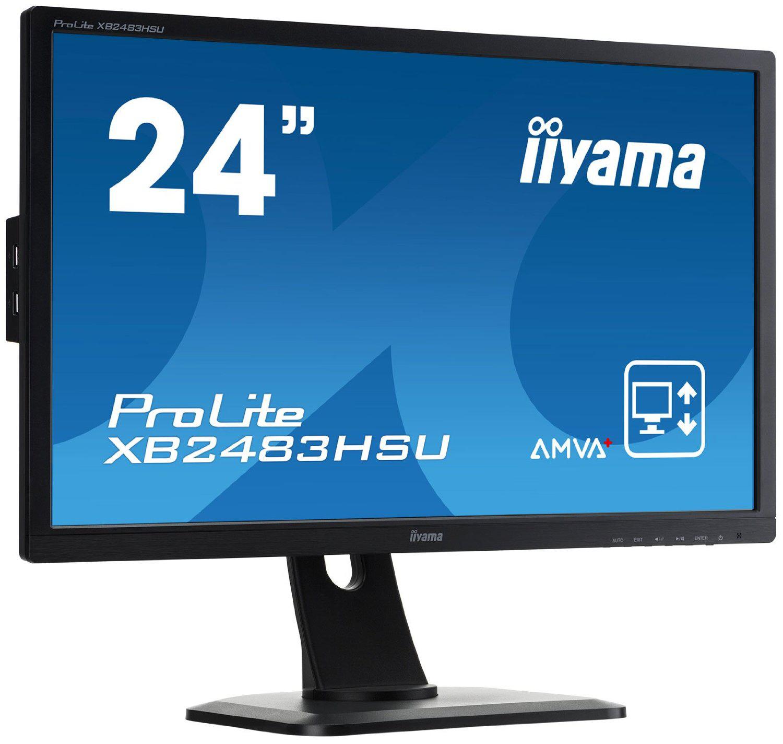 "Ecran LED 24"" IPS Iiyama XB2483HSU-B1 Full HD (+ 20€ de carte cadeau)"