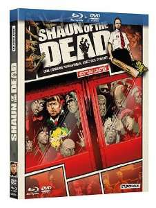Coffret Blu-Ray + DVD Shaun of the Dead