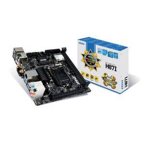 Carte mère MSI H87-I  Mini ITX Socket LGA 1150