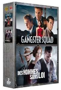 Coffret 2 DVD Gangster Squad + Des Hommes Sans Loi
