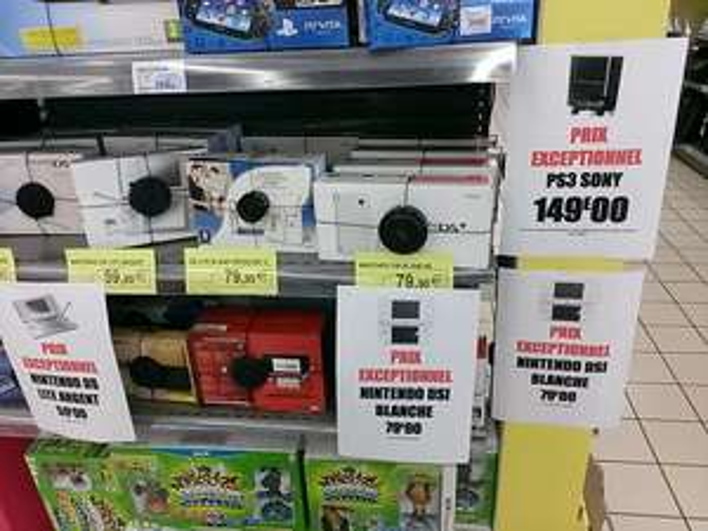 Console Nintendo DSi à 79€ et DS Lite