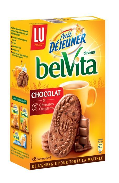 2 paquets de Belvita Petit Déjeuner à ~