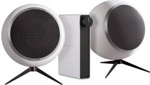 Chaîne Hi-Fi ultra design NuForce Amp + enceintes Elipson AS30 + casque Panasonic RP-HTX7E pour 1€ de plus