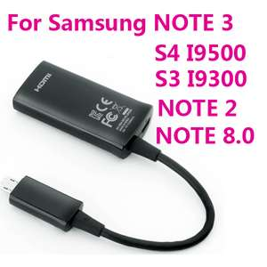 Câble Micro USB vers HDMI (compatible Samsung Galaxy S4/S3/Note 2/Note 3/)