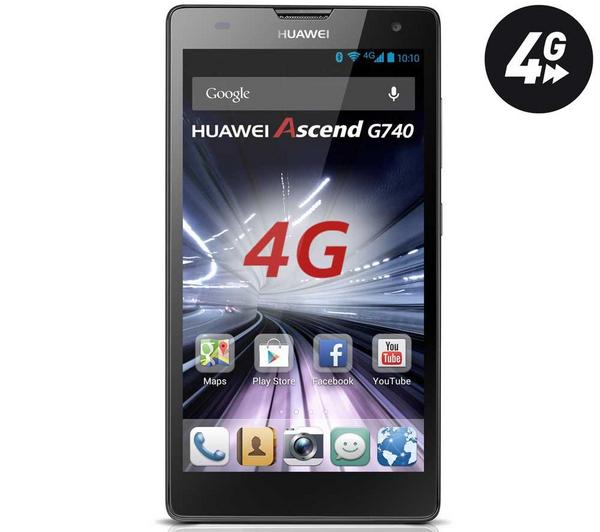 """Smartphone 5"""" Huawei Ascend G740, 4G (après ODR de 30€)"""