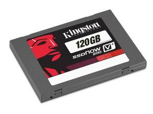 Disque mémoire ssd 2.5'' kingston SSDNow V+200 120 Go sata III