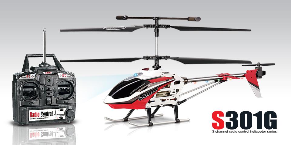 Helicoptère radiocommandé en métal Syma S301G