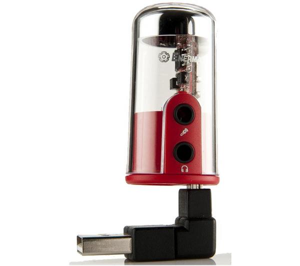 Carte son USB Enermax DreamBass + écouteurs intra-auriculaires