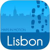 Lisbonne à pied : Carte Hors Connexion gratuit sur iOS (au lieu de 2,99€)