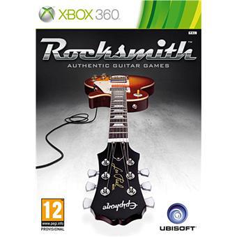 Jeu vidéo Rocksmith + Câble sur Xbox 360