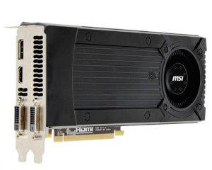 Carte graphique MSI Nvidia Geforce GTX670 2Go 950Mhz PCI-Express 16x