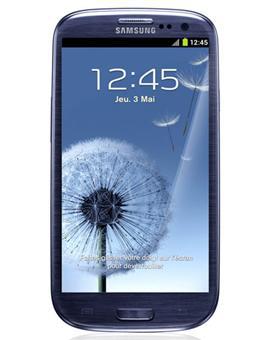 Smartphone Samsung Galaxy s3 (I9300) - Bleu  (Avec ODR de 50€) + 29.99€ en chèque cadeau Fnac (adhérent)