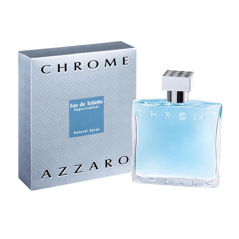 Azzaro et Azzaro Chrome Pour Homme Eau De Toilette Spray 100ml