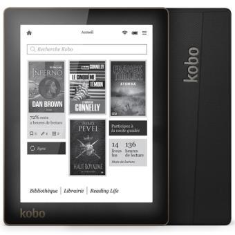 [Offre adhérent] Liseuse numérique Kobo by Fnac Aura