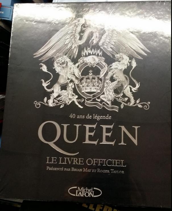 Livre officiel Queen, 40 ans de légende