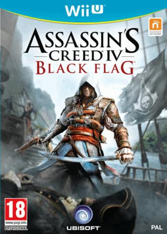 Assassin's creed IV Black Flag sur Wii U