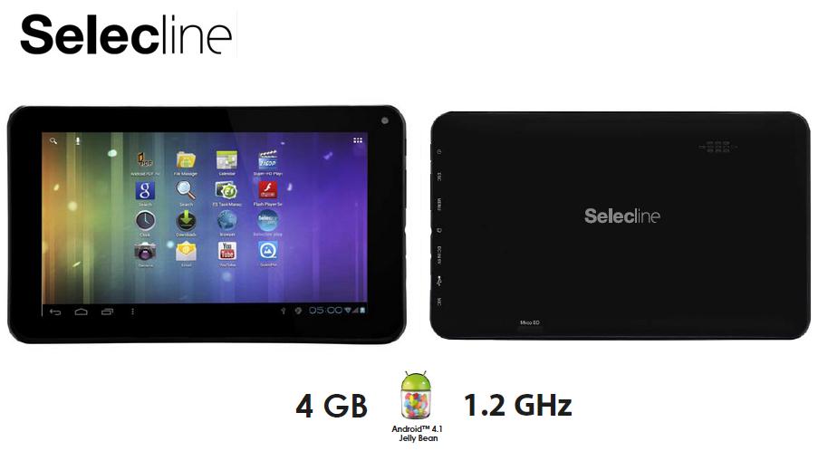 Tablette tactile Selectline 7''