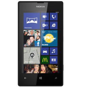 Smartphone Lumia 520 Rouge ou Noir (avec ODR de 20€) (90€ via Buyster)