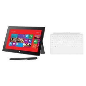 """Microsoft Surface Pro 10.6"""" 128 Go I5 + Touch cover blanc"""