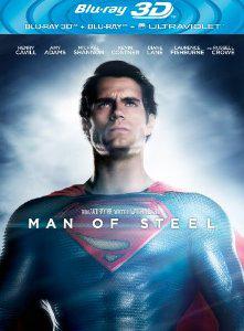 Combo Pack Man of Steel [Blu-ray 3D + Blu-ray + Copie UltraViolet]