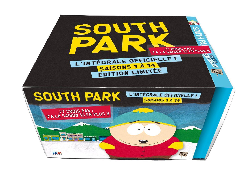 Coffret DVD South Park intégrale Saison 1 à 15