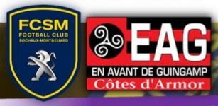 Place match de foot FCSM - EA Guingamp pour les femmes