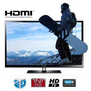"""TV Plasma 50"""" Samsung PS 51F4900 3D (720p)"""