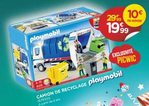 Camion de recyclage Playmobil 4129