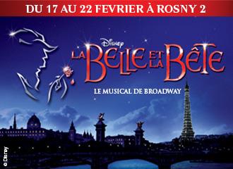 Animations gratuites Comédie Musicale La Belle et la Bête
