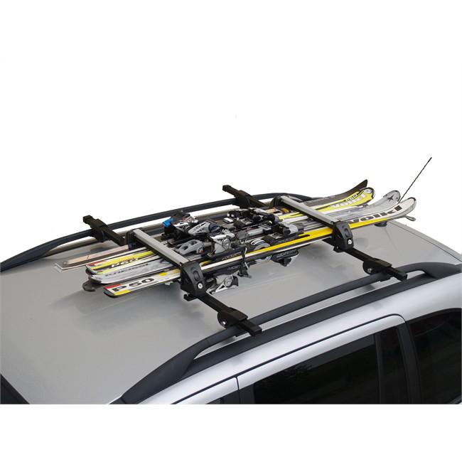 Porte-skis sur barres de toit