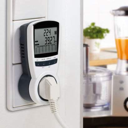 Controleur de consommation électrique LCD