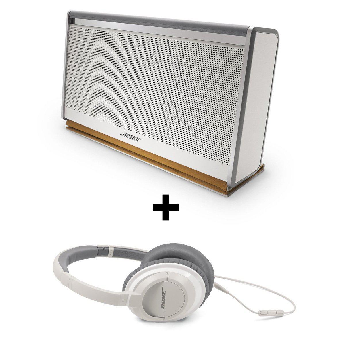 Pack Bose enceinte mobile Bluetooth SoundLink II et casque Bose AE2i