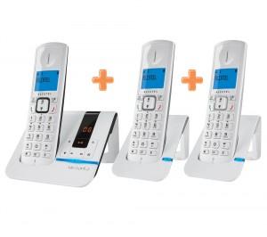 Téléphone sans fil Alcatel Versatis F250 Pack Trio