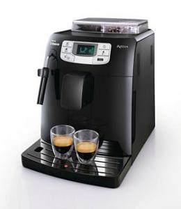 Machine expresso avec  broyeur café en grain PHILIPS-SAECO intelia HD8751/11 avec code promo et ODR (50€)