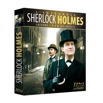 Coffret Blu-ray Sherlock Holmes - Intégrale des Saisons 1 à 4, inclus les inédits