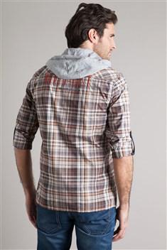 jusqu'à-60% sur les anciennes collections - Ex : Chemise homme carreaux et capuche